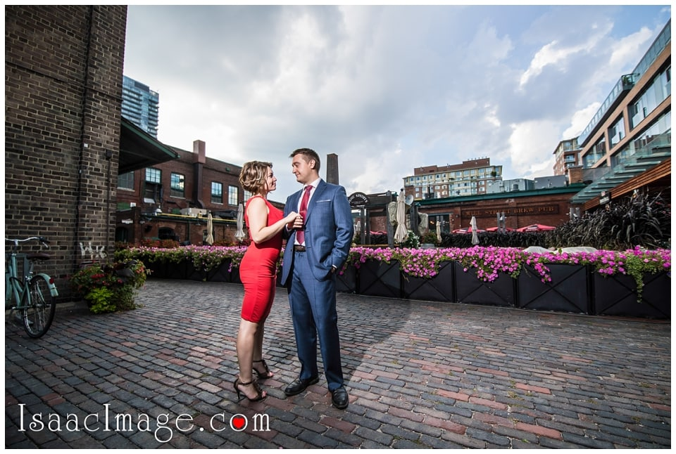 Distillery district Toronto engagement photo session Alexandra and Konstantine_0238.jpg
