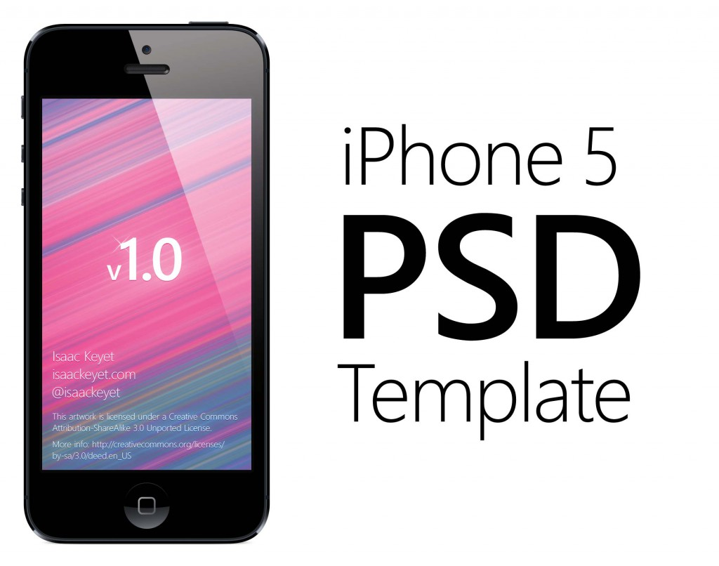 iPhone 5 PSD template blog header 1024x806 Iphone 5 Wallpaper