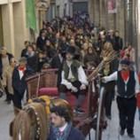 La ruta teatralitzada de l'entrada dels francesos a Valls