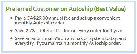 Autoship Customer