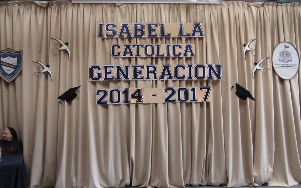 Acto Académico Secundaria Generación 2014 -2017