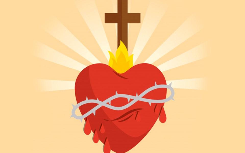 Iniciamos Junio, mes del Sagrado Corazón de Jesús