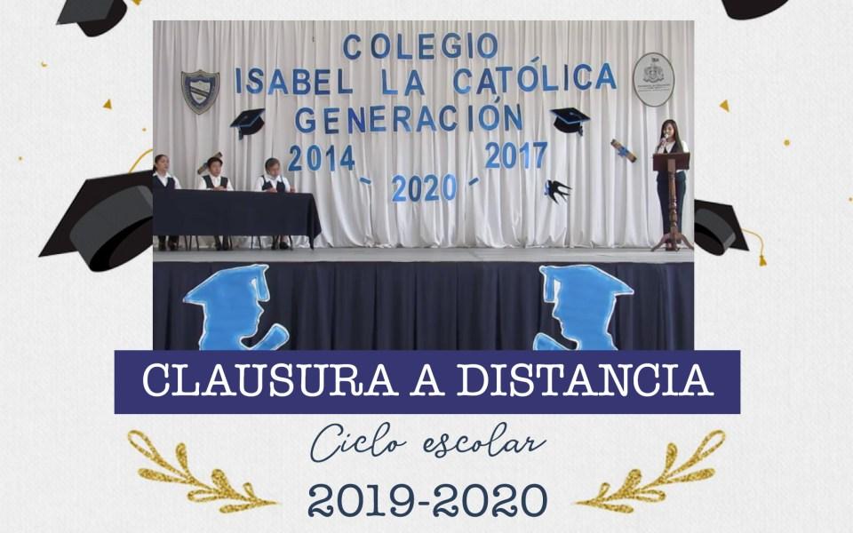 Video Clausura del Cico Escolar 2019-2020