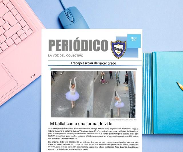 """Periódico de Mayo """"La Voz del colectivo"""""""