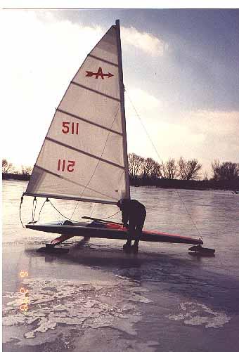 Ice Ice Boat Iceboat Iceboat Isabella Sailing On Ice Isabella