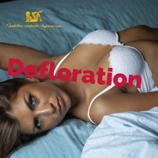"""""""Defloration"""" ist eine erotische Hypnose von Lady Isabella und das ist das Bild dazu."""