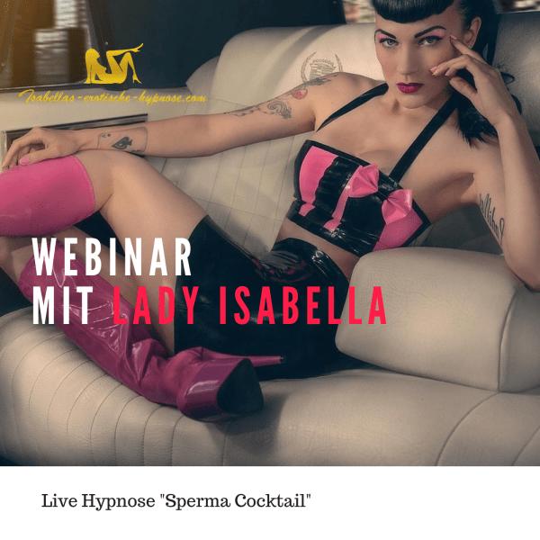 Webinar mit Live Hypnose Bild dazu