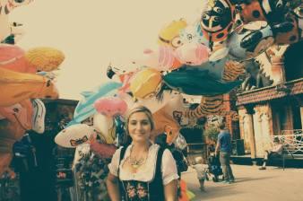 Dirndl Luftballons Oktoberfest