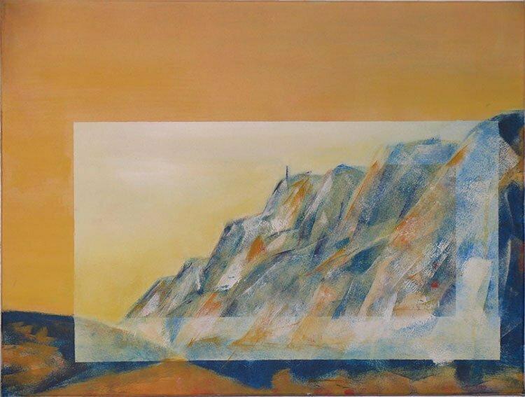 N°8 - 61x46cm - huile sur toile - collection particulière.