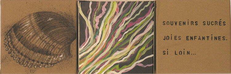 N°11 - 20x61 - technique mixte - juin 2012 - collection particulière.