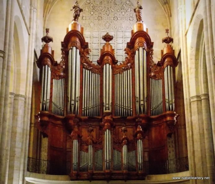 Orgues de la basilique de saint maximin