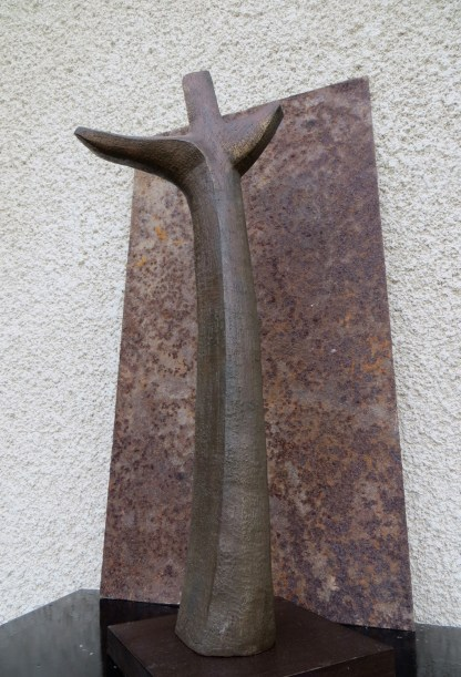 Croix / Terre patinée / H 47