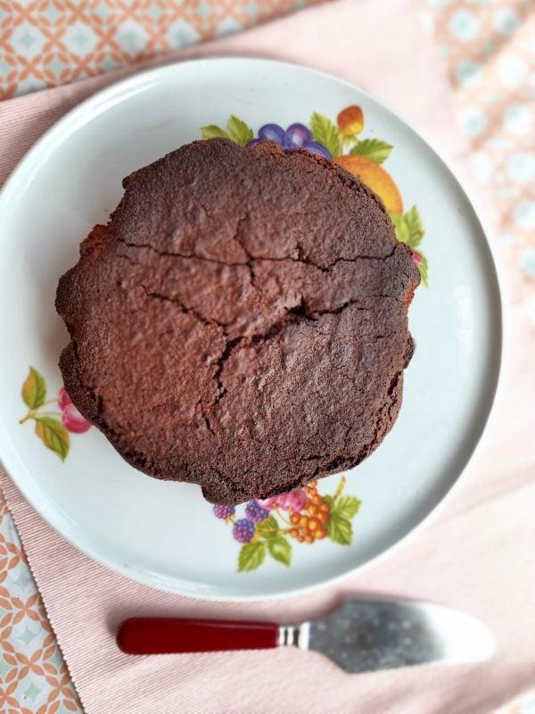 mon gâteau au chocolat à IG bas