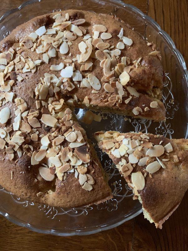 gâteau leger aux pommes par isabel kehr
