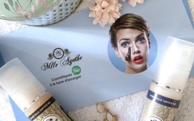 Mlle Agathe la cosmétique bio à la bave d'escargot