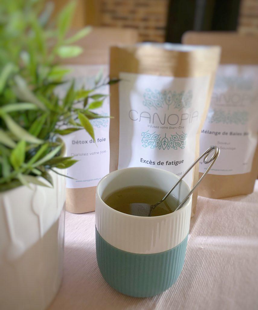 le thé de chez Canopia