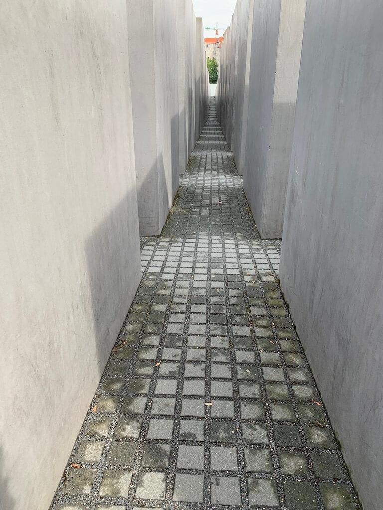 mémorial aux juifs Berlin