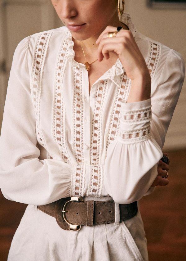 blouse cézane