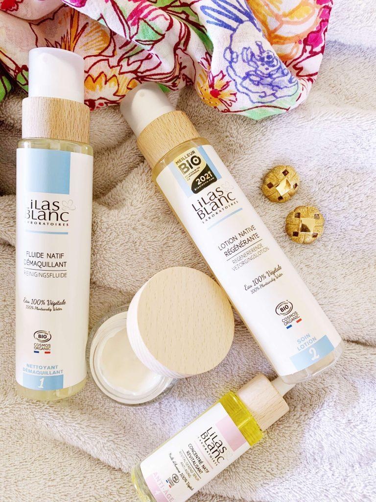 Lilas Blanc cosmétiques bio