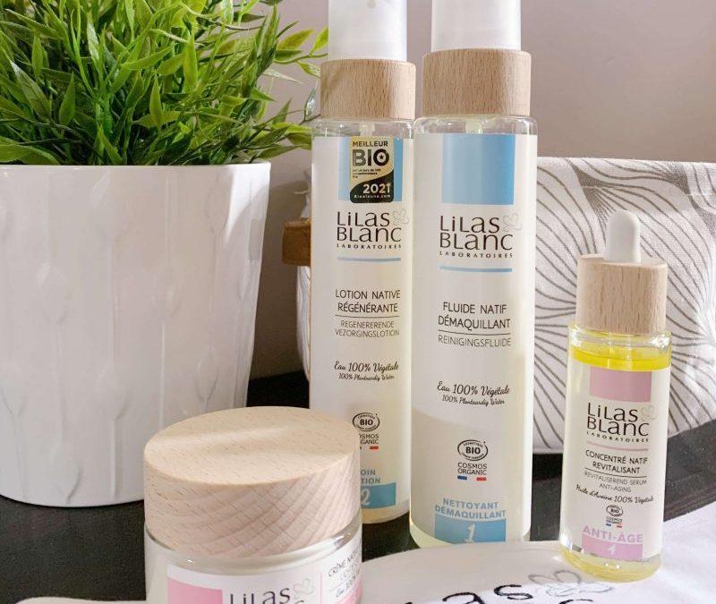 Soins Lilas Blanc, j'ai testé les cosmétiques bio anti-âge