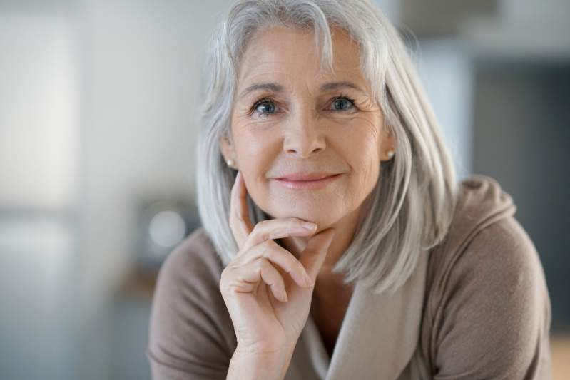 femme à la ménopause