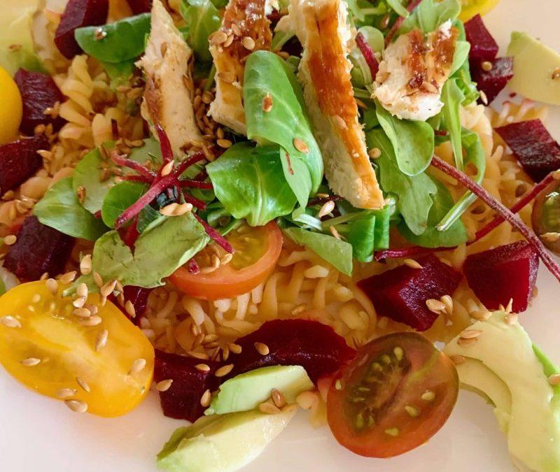 Salade d'été originale et simple