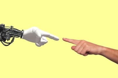 Il s'agit de rappeler que c,est l,humain qui doit diriger le robot et non l'inverse