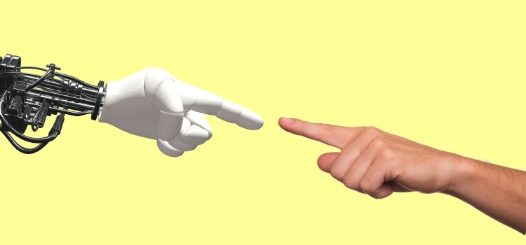 Il s'agit de rappeler que c'est l'humain qui doit diriger la technologie et non l'inverse