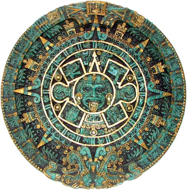 Un magnifique calendrier aztèque : de tous temps les hommes ont voulu comprendre le temps.