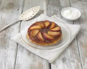 No oven apple tart