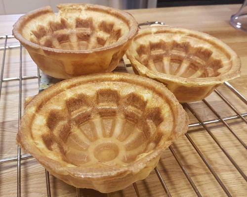 Gluten Free waffle baskets
