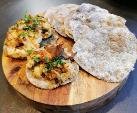 gluten free Cassava flatbread