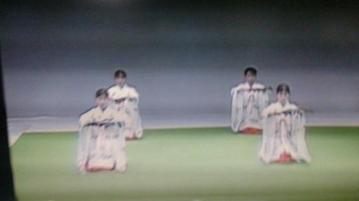 巫女舞の練習(栄田町)150912