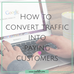 How to convert traffic into paying customers