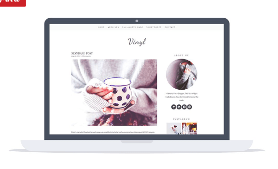 vinyl theme wordpress