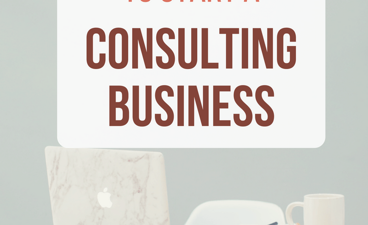 How to use your skills to start a consulting business