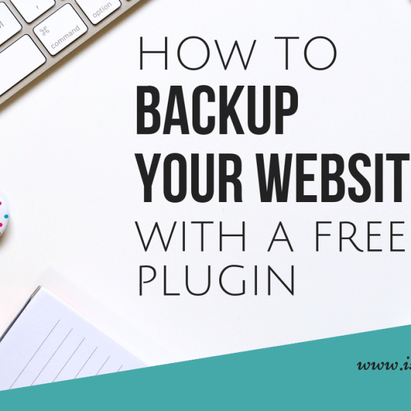 how to backup your website free