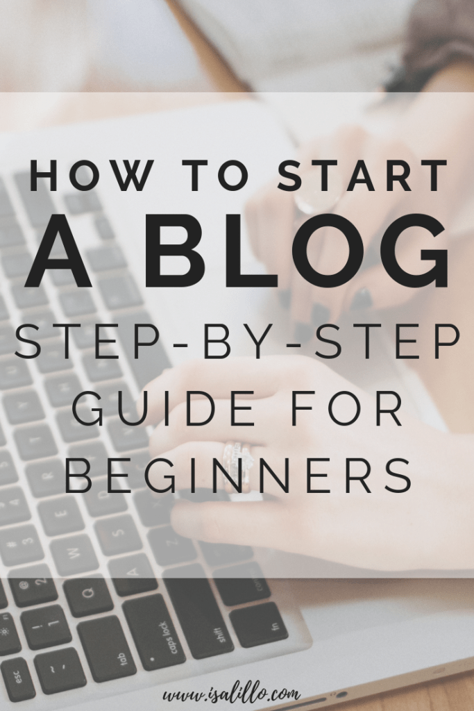 how to start blog wordpress