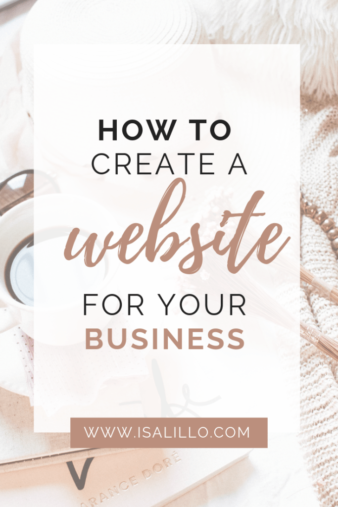 how to create website for business