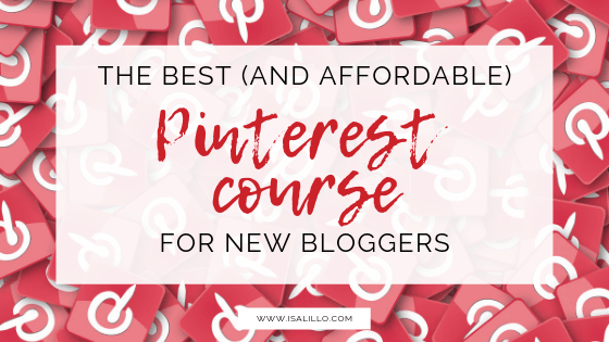 best affordable pinterest course for bloggers