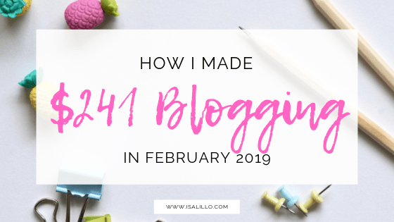 February income report how to make money blogging