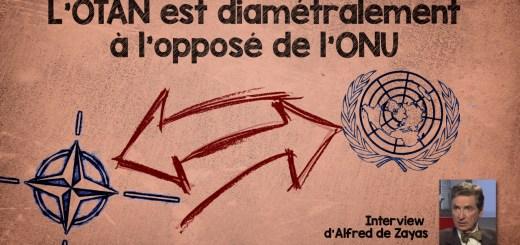 L'OTAN est diamétralement à l'opposé de l'ONU