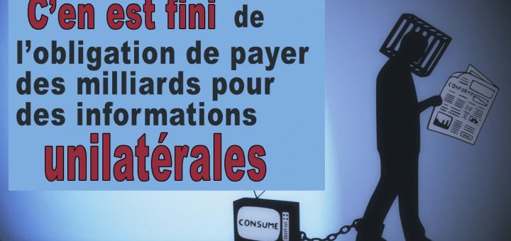 payer des milliards pour des informations unilatérales