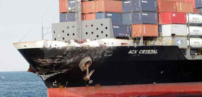 US Navy ship collides with a container ship off the coast of Japan