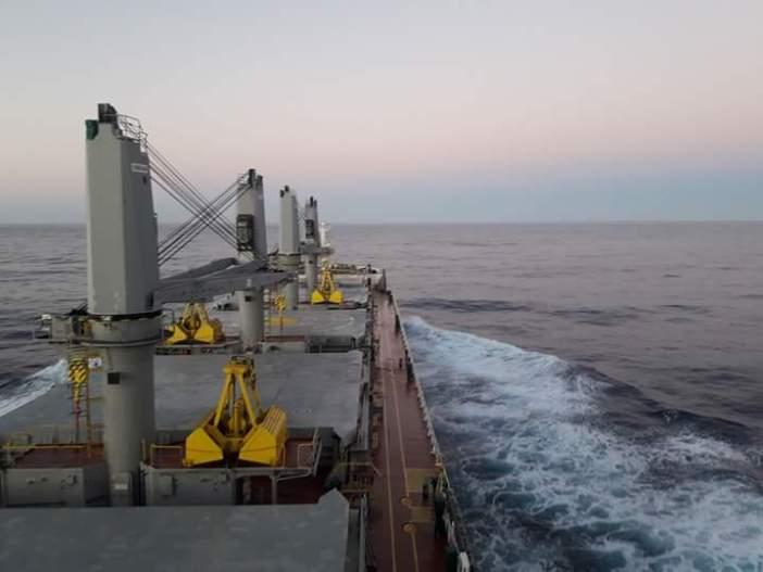 2. Chios freedom ...at sea. Credits to Dimitrios kalloudis