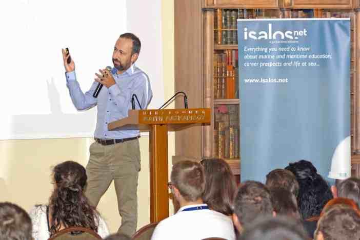 Ο κ. Νίκος Μαζαράκης, Client Relations and General Office Manager της StormGeo