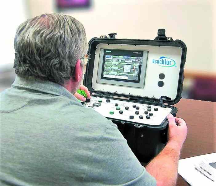 Ecochlor Simulator Training HMI
