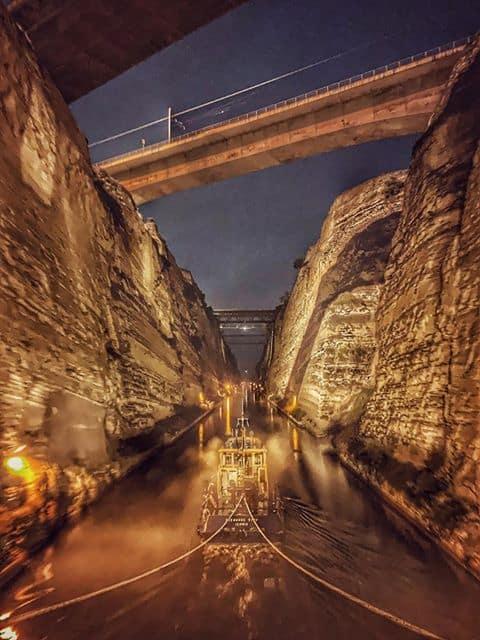 3. Corinth Canal. Credits to Charalampos Atesoglou
