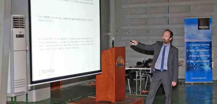 O κ. Νίκος Μαζαράκης – Μετεωρολόγος PHD και General Office Manager της StormGeo.
