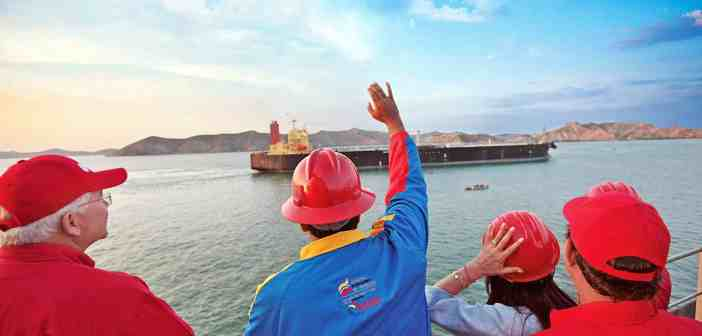 Maduro presents our new oil tankers